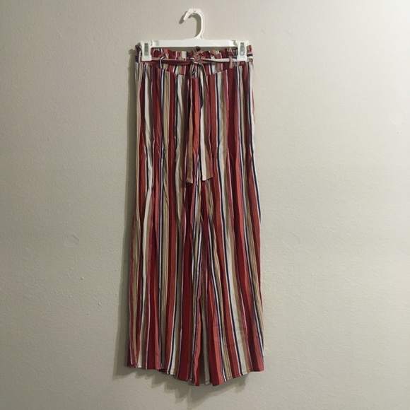 Pants - Forever 21 Striped Wide Leg Pants